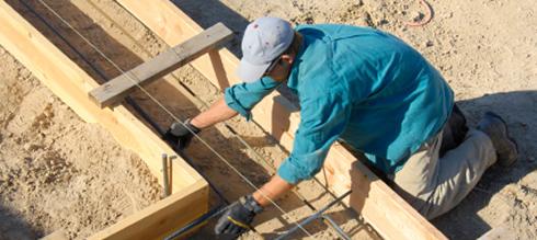 Fundament Bodenplatte Schalung